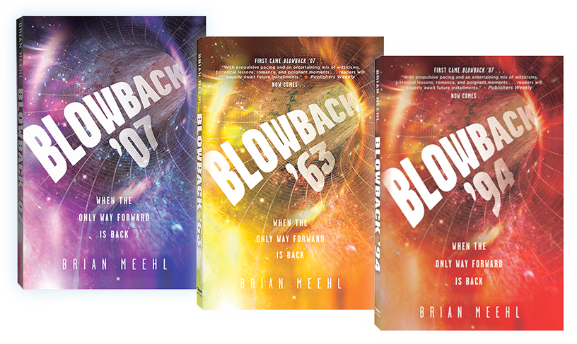Blowback Trilogy Books