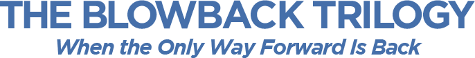 The Blowback Trilogy title